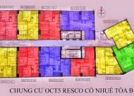 Bán căn hộ 69m2, căn A02 dự án OCT5 Resco Cổ Nhuế, giá19.5tr/m2, sắp nhận nhà