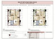 Bán căn hộ 16B10 dự án OCT5 Resco Cổ Nhuế, Dt 65m2, cửa hướng Nam, bc TB, giá 21tr/m2,LH:0968723662