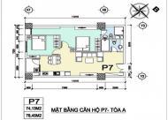 Chính chủ bán gấp căn hộ Ruby Towers Định Công-Hoàng Mai,DT:78.45m2,tháng 9/2016 nhận nhà,giá bán:24.5tr/m2