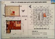 Cần bán gấp căn hộ 1 phòng ngủ chung cư Linh Đàm, chênh 125 triệu