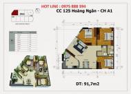 Mở bán dự án 125 Hoàng Ngân Luxury Building, đầu tư, sở hữu căn hộ cao cấp. LH 0975 888 394