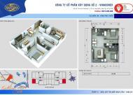 Bán gấp căn hộ 2 phòng ngủ tòa C chung cư Kim Văn Kim Lũ Vinaconex 2