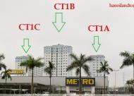 Bán căn hộ 75m2, chung cư CT1 Thành Phố Giao Lưu, Bắc Từ Liêm Hà Nội