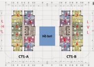 Bán chung cư CT1AB - VOV Mễ Trì căn góc hướng ĐN-TN diện tích 64,65m2