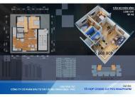 Bán gấp căn 2 phòng ngủ - 68m2 dự án 60B Nguyễn Huy Tưởng - hỗ trợ vay 0% lãi suất