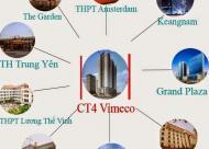 Phân phối căn hộ chung cư Vimeco CT4 giá tốt nhất 0936158839