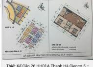Chính chủ bán gấp căn hộ số 26 tầng 9 chung cư Thanh Hà Cienco 5