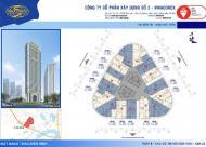 Mình cần bán suất ngoại giao tòa B Kim Văn Kim Lũ (Vinaconex2), căn 1612, DT: 65m2, giá 20tr/m2