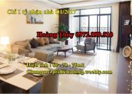 Bán căn 03 phòng ngủ, 02 vệ sinh căn số 01 tầng 10 tòa nhà V3 Prime, Hà Đông 0972.899.510