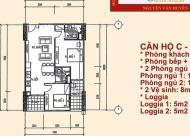 Chính chủ cần bán căn chung cư Học Viện Kỹ Thuật Quân Sự, 60 Hoàng Quốc Việt. Giá bán 26tr/m2