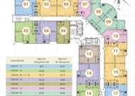 Chính chủ bán CHCC CT2B Nghĩa Đô, tầng 17.07 DT: 49.56m2: 1PN + 1WC, giá bán 25 triệu/m2