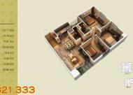 Nhà chính chủ bán giá 30.3tr/m2 căn góc số 04 tòa V3 DT 95.68m2, 3PN view đẹp. LH 0981079456