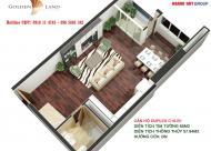 Sở hữu chung cư Golden Land chỉ từ 800 triệu nhận nhà ngay, PKD: 0918114743