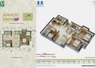 Chính chủ thiện chí bán gấp căn 1505: 80.26m2 CC 89 Phùng Hưng, giá 15tr/m2. LH 0981129026