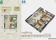 Chính chủ bán gấp CC 89 Phùng Hưng, tầng 1603, DT: 69.39m2, giá 14 tr/m2, LHCC: 0981129026
