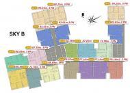 Căn 2 phòng ngủ, DT 76m2, 2 mặt thoáng các tầng 9, 17, 24, 26 dự án Imperia Sky Garden Minh Khai
