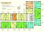 Bán căn  3 ngủ  Eco Green City  căn  số 3 diện tích 95.1m2 tòa CT4 , view Nguyễn Xiển