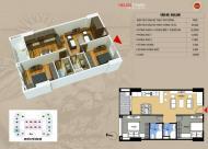 Gia đình có việc cần bán gấp căn hộ 70m2 dự án Helios 75 Tam Trinh, giá 25.5tr/m2