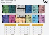 0966377635 bán gấp chung cư The Golden An Khánh 32T, căn 19B11 DT 65.9m2, giá 1.15 tỷ