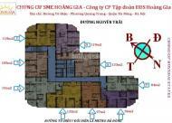 Cần tiền bán chung cư SME Hoàng Gia, Hà Đông căn góc 15C9, DT: 119m2, giá 15 triệu/m2: 0981129026