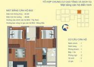 Căn 02 tòa B chung cư 122 vĩnh tuy đẹp nhất bán gấp rẻ hơn thị trường