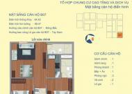 Nhượng gấp, căn chung cư 122 Vĩnh Tuy – 2PN, Diện tích 64.42m2