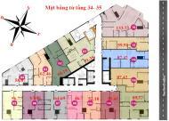 Tôi cần bán gấp căn Tháp Doanh Nhân Tower, căn 1505: 56.77m2, giá 18tr/m2. LH 0906237866