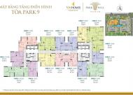 Chủ căn hộ 1609 DT 70.3m2, Park9 CC Park Hill, cần bán gấp với giá 2.7 tỷ, 0983 142 218