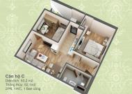 Tôi chính chủ bán lại căn hộ 52m2 (2PN) tầng 10 chung cư HUD3 60 Nguyễn Đức Cảnh
