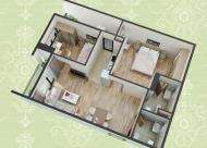 Tôi có căn hộ 70m2 muốn bán lại tại chung cư HUD3 số 60 Nguyễn Đức Cảnh