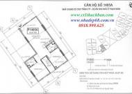 Chính chủ bán căn 1502, CC CT1 Thạch Bàn, DT 75.51m2, giá 14.8tr/m2.LH 0906237866