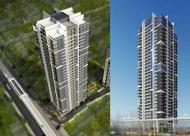 Bán căn hộ 75m2 ban công Đông Nam dự án Hà Nội Center Point 110 cầu Giấy
