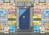 Bán căn hộ chung cư Five Star số 2 Kim Giang, căn 06 tầng 15, DT: 84.45m2, 22 tr/m2, LH 0981129026