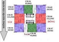 Bán căn 05 tòa NO2-T3 dự án Ngoại Giao Đoàn, Xuân Tảo, Bắc Từ Liêm vào tên trực tiếp CĐT Quang Minh