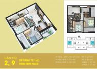 Tabudec Plaza 1.2 tỷ/74m2 full nội thất. LH 0989.849.009