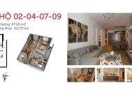 Chính chủ bán cắt lỗ căn hộ tòa IP3 dự án Imperial Plaza 360 Giải Phóng, 63m2, 2PN view công viên