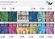 Chính chủ cần bán CC The Golden An Khánh, tầng 1505 tòa 32B, DT 66.1m2, giá 950tr LH 0961637026