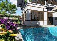 Bán Biệt Thự Nghỉ Dưỡng Green Oasis Villas Tại Lương Sơn Hòa Bình, chỉ 3,2 triệu/ m2