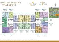 Cần bán gấp căn 01 P11(199m2) - Times City Park Hill , giá 4,5 tỷ, LH: 0969.947.369