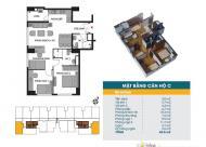 Bán căn hộ chung cư tại dự án chung cư 789 Xuân Đỉnh, Bắc Từ Liêm, Hà Nội. DT 70m2, giá 26 tr/m²
