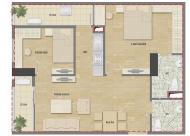 Tôi bán căn 70m2 chung cư HUD3 Nguyễn Đức Cảnh, tầng 12, giá thương lượng