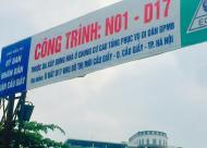 Bán chung cư tái định cư N01 D17 Duy Tân, Cầu Giấy. DT 52m2 đến 100m2