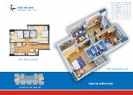 Chính chủ cần bán lại căn 59.7m2 tầng 16 CH3-2 chung cư 60B Nguyễn Huy Tưởng