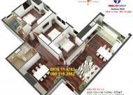 Bán căn góc 07 tòa C 130m2 tầng 9 và 15,16 Golden Land chỉ từ 27.7tr/m2