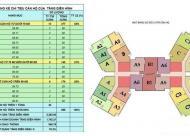Bán suất ngoại giao giá tốt dự án Samsora 105 Chu Văn An, căn góc, giá 1.233 tỷ/2PN