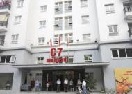 Bán căn hộ chung cư tòa C7 Giảng Võ, Ba Đình, Hà Nội diện tích 79m2, căn góc 2 ban công
