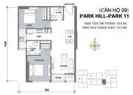 Bán căn hộ Park 11 Park Hill Premium, đồ cơ bản chủ đầu tư giao