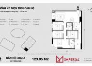 Bán căn hộ chung cư Imperia Plaza 360 Giải Phóng, căn tầng 1612P2 DT: 123m2 giá: 26tr LH: 0934646229