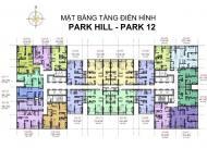 Tôi chủ 2 CH 1801 Park 12(118.5m2) và 2516- Park 11(68.1m2) cần bán cắt lỗ gấp 200tr, 0961 980 322