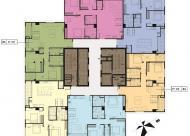 Bán căn hộ CH tầng 1803, DT 97m2, CC Hong Kong Tower, giá bán 38 tr/m2. LH 0986854978